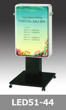 LED電気看板 シンプルなスタンドサイン